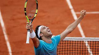 Roland-Garros : un 72ème mondial en quart