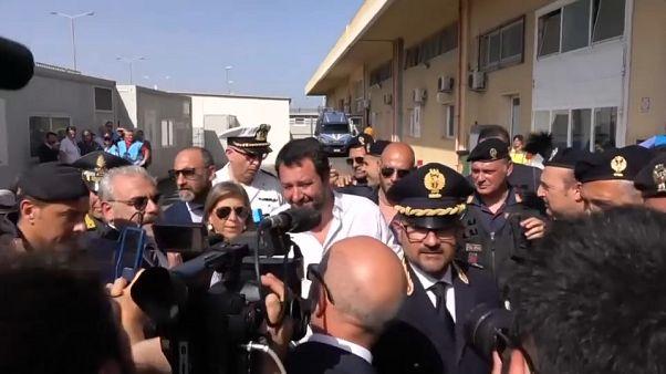 Salvini infiamma la Sicilia sul tema migranti