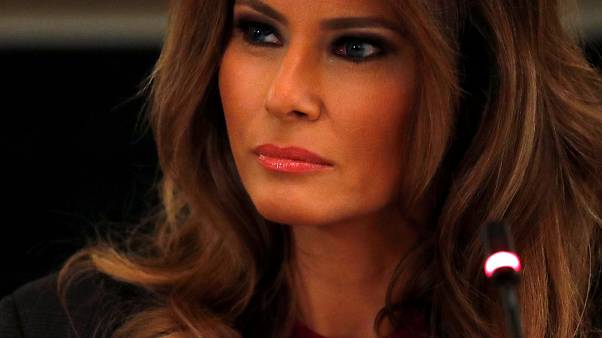Photo prétexte Melania Trump.