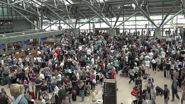 Neustart am Hamburger Flughafen