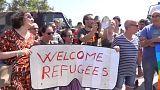 Matteo Salvini visite un centre d'asile sous les sifflets