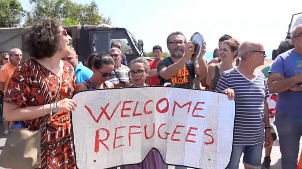 Caceroladas en Italia en protesta contra la nueva política migratoria
