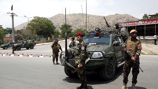 محل انفجار در کابل