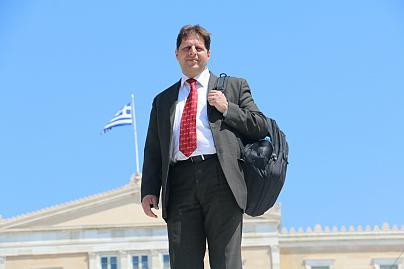 Yunan mülteci avukat Sotiris Livas