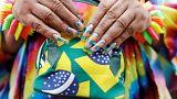 Hatalmas melegfelvonulás Brazíliában