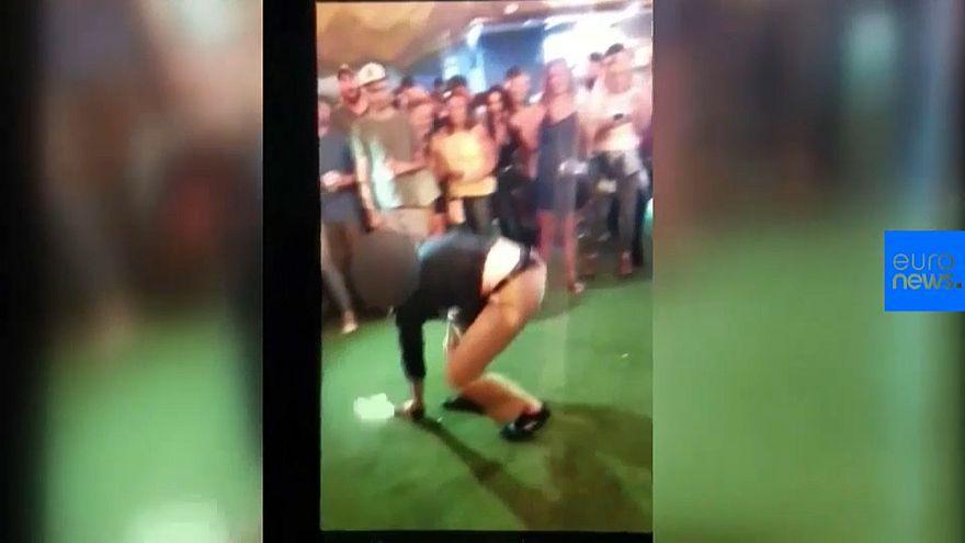 ویدئوی رقص افسر افبیآی و شلیک بیاختیار او