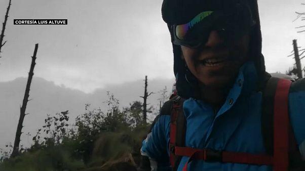 La erupción del Volcán de Fuego en primera persona