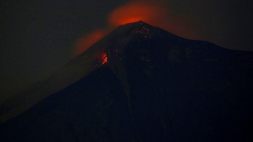 Στο euronews μάρτυρας της έκρηξης ηφαιστείου στη Γουατεμάλα