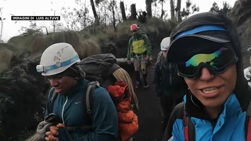 Eruzione del vulcano in Guatemala, la testimonianza esclusiva di un soccorritore