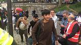 Desmantelados otros dos campamentos de migrantes en París