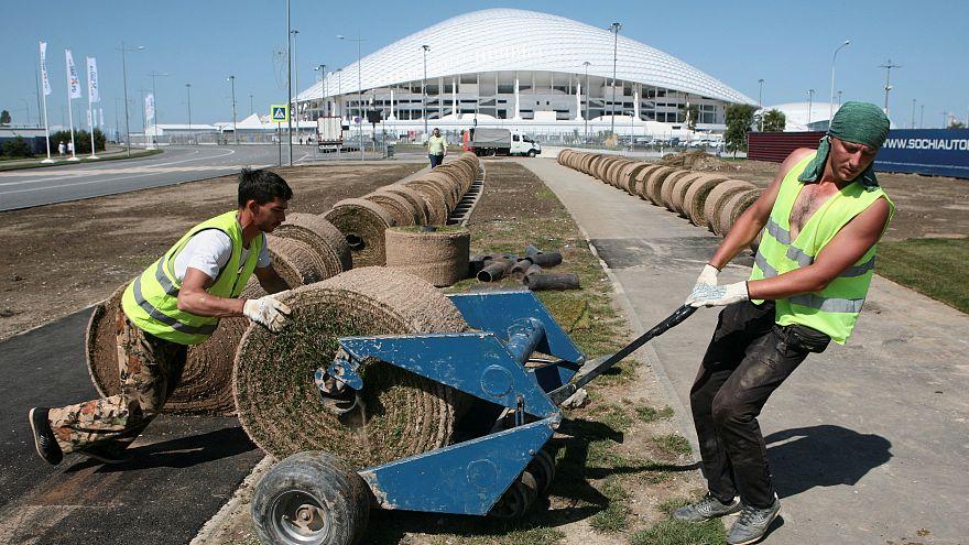 Sochi prepara-se para o Portugal-Espanha