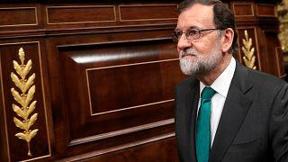 Ds Parlament sprach Rajoy am Freitag sein Misstrauen aus und setzte ihn ab