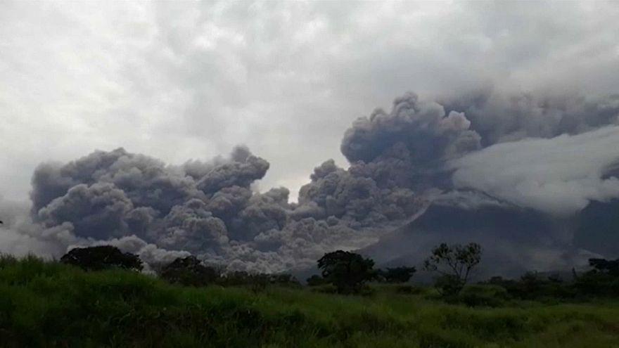 Гватемала: извержение Фуэго