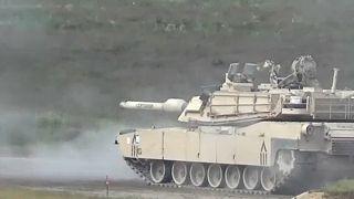 """""""Kardcsapás"""": NATO-gyakorlat kezdődött Litvániában"""