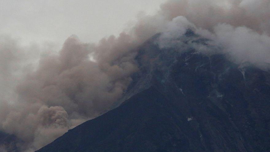 Impactantes imágenes de la erupción del Volcán de Fuego, en Guatemala