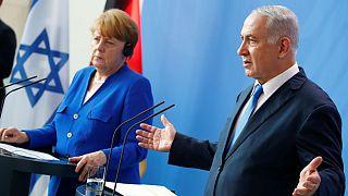 آنگلا مرکل صدراعظم آلمان و بنجامین نتانیاهو نخست وزیر اسرائیل