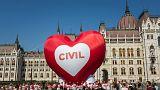 Civil tiltakozás a Stop Soros ellen