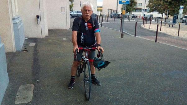 In bicicletta fino a Strasburgo contro femminicidio e bullismo