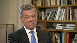 الرئيس الكولومبي ليورونيوز: اتهمت بمحاولة وضع البلاد على منحى كاسترو وتشافيز