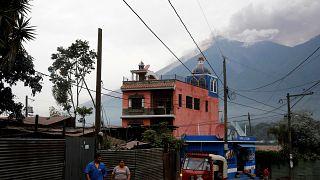 Guatemala'da son 40 yılın en büyük volkan patlaması