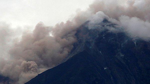 Bazaltvulkán-kitörés Guatemalában