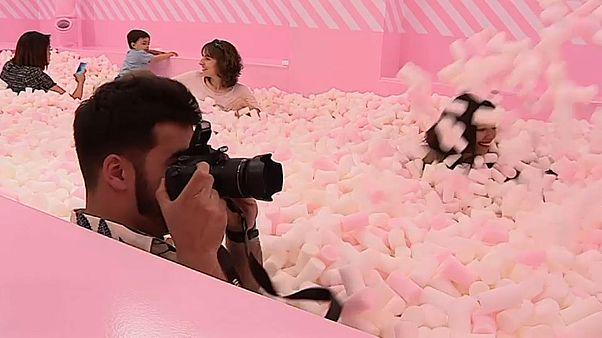 Süßes Vergnügen: Ein Spaßmuseum mit Marshmallow-Pool