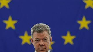 Le président colombien Juan Manuel Santos