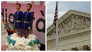 دیوان عالی آمریکا به نفع قناد مخالف ازدواج همجنسگرایان رای داد