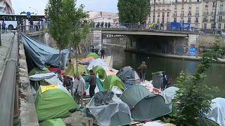 Migranten-Zeltlager in Paris geräumt