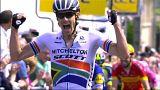Cyclisme : première étape du Dauphiné