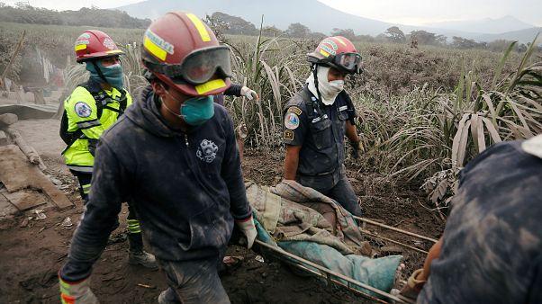 Muerte y desolación en Guatemala por el Volcán de Fuego
