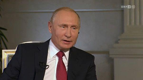 Bécsben tárgyal Putyin