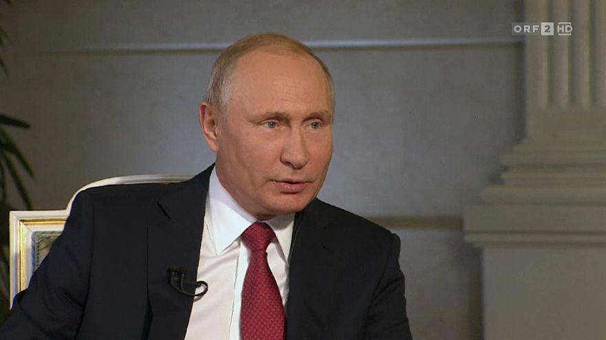 Segurança máxima em Viena durante visita de Putin