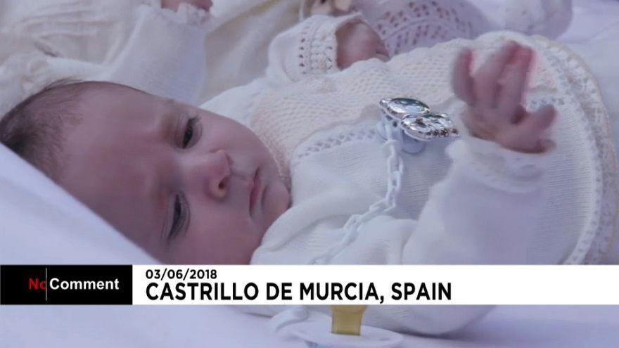 Le « saute-bébé » à l'espagnole