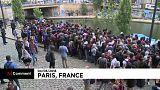 Évacuation de deux camps de migrants à Paris