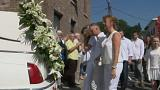 Funeral held for youngest Liege terror victim