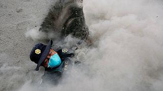 شمار قربانیان آتشفشان فوئگو در گواتمالا به ۶۵ نفر رسید