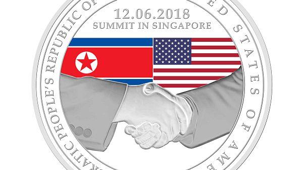 Singapore Mint release commemorative coins in honour of Trump-Kim summit