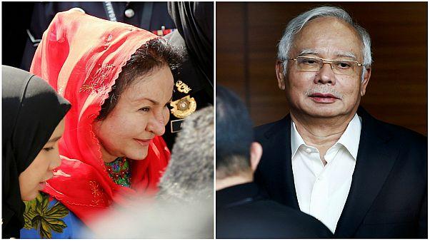 استقالة محامي رئيس وزراء ماليزيا السابق قبيل مثول زوجته أمام جهاز الكسب غير المشروع