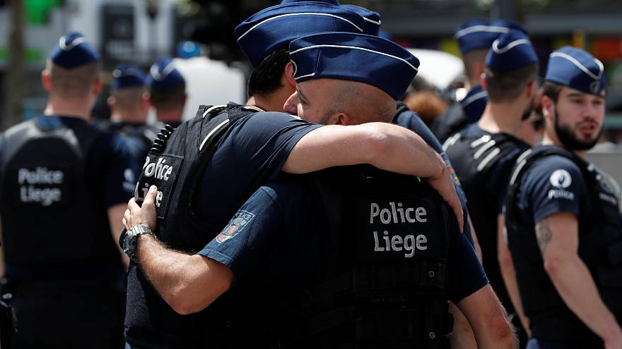 Liegi, i funerali delle vittime dell'attacco