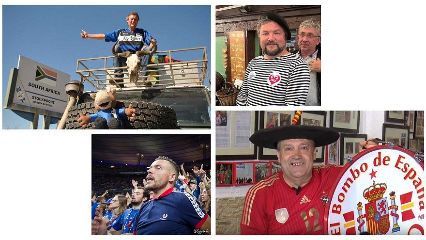 Russia 2018: le follie dei super tifosi, pronti a tutto per seguire la propria nazionale
