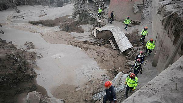 Guatemala : la menace des coulées de boue volcaniques