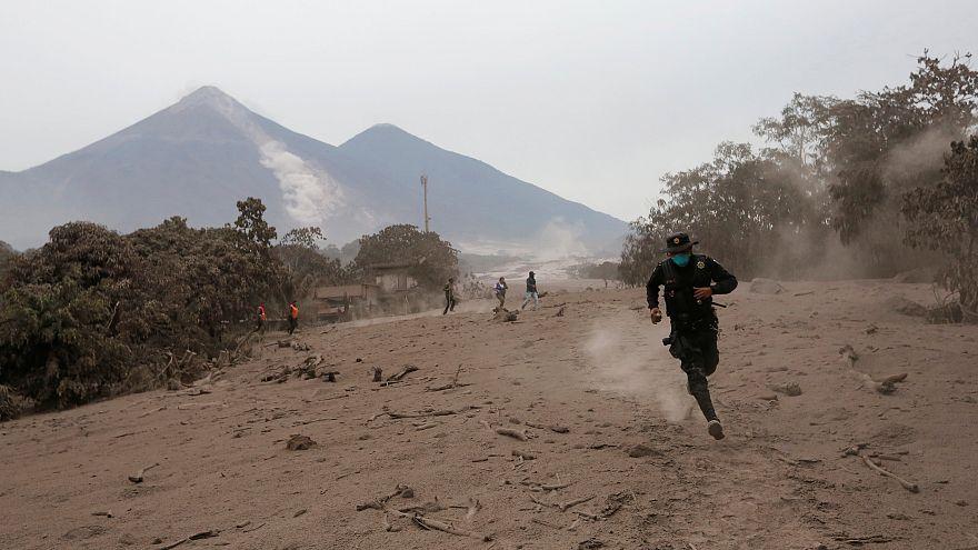 Γουατεμάλα: Συνεχίζει να προκαλεί τρόμο το Φουέγκο