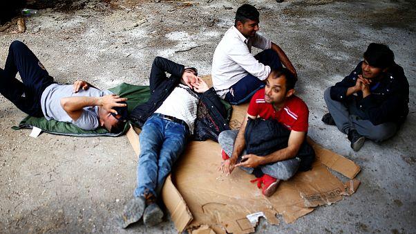 گروهی از پناهجویان در بوسنی و هرزگوین