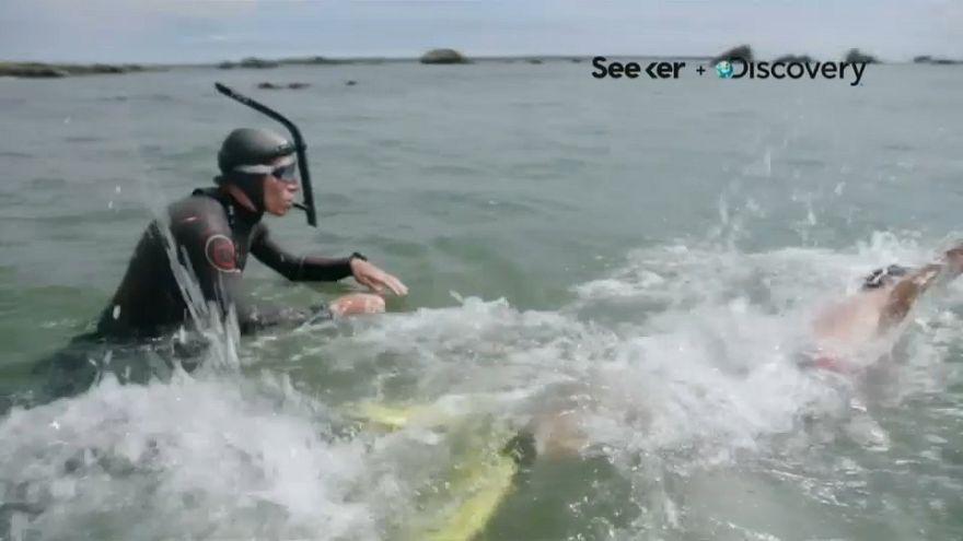 Un Français à l'assaut de la pollution marine