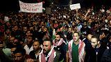 ادامه ناآرامی های در اردن
