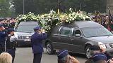 Funérailles poignantes des policières de Liège
