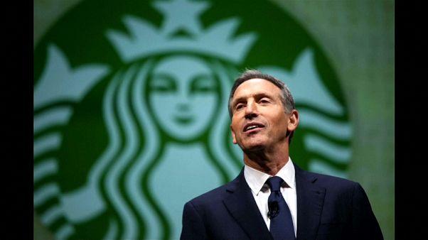 """من القهوة إلى السياسة هل تقود """"ستاربكس"""" رئيسها إلى البيت الأبيض؟"""