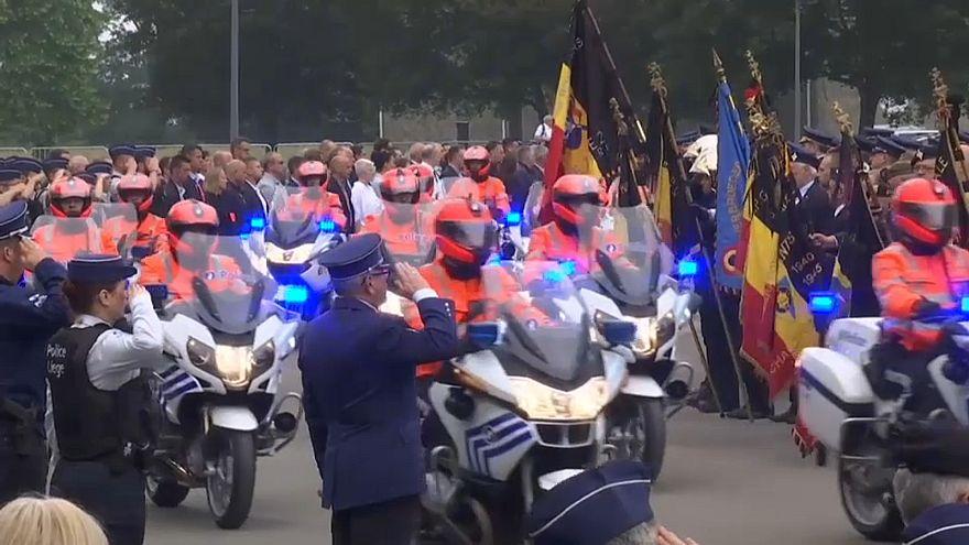 Погибли при исполнении: в Льеже похоронили женщин-полицейских