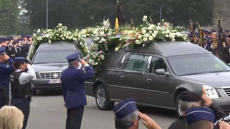 Bélgica despede-se de polícias assassinadas pelo Daesh